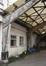 Chaussée de Mons 691-693, détail du hangar en bois, 2015