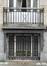 Rue Rossini 6, détail au rez-de-chaussée, 2016