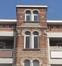 Rue Van Soust 295-297, travée d'entrée, 2015