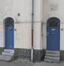 Rue de Bruges 51 et 53, entrées, 2015