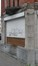 Rue de l'escaut 87, détail de la vitrine, 2015