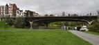 Pont du Jubilé, vue vers le nord, ARCHistory / APEB, 2017