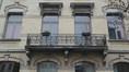 Boulevard Leopold II 55, balcon axial, 2016