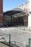 Rue Van Meyel 26-28, la cour centrale sous charpente métalique, 2015