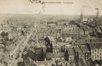 Rue Herkoliers 35-37, panorama sur Koekelberg, au centre à l'avant-plan l'anc. école communal pour filles, avant 1919© Collection Dexia Banque-ARB_RBC