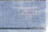 Boulevard Leopold II 277, signature, 2014