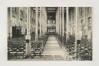 Avenue des Gloires Nationales 126, actuellement Heilig Hartinstituut, intérieur de l'ancien église provisoire, Collection Dexia Banque-ARB_RBC