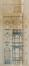 Avenue Edmond Parmentier 42, élévation, ACWSP/Urb. 600 (1909)