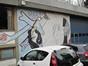 Lambert Vanderveldestraat 31, muurschildering, 2015