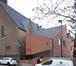 Rue Baron Guillaume Van Hamme 33a, crèché partiellement intégrée dans l'église, 2021