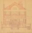 Rue des Alliés 21-23, élévation façade principale© ACF/Urb. 12404 (1934)
