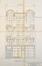 Chaussée d'Alsemberg 337-339-341, élévation© ACF/Urb. 5709 (1911)