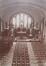 La chapelle Saint-Augustin, l'intérieur de l'édifice temporaire, sd (ca. 1910), Archives de l'église paroissiale Saint-Augustin de Forest, album classeur  Saint-Augustin, vol. 1
