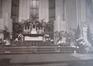 L'église Saint-Augustin, vue sur le choeur, sd (ca. 1940), Archives de l'église paroissiale Saint-Augustin de Forest, album classeur  Saint-Augustin, vol. 1