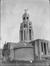 L'église Saint-Augustin encore en chantier, 1935 , © KIK-IRPA, Brussels (Belgium)