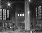 Entrée principale et nef latérale de l'église Saint-Augustin,1970, © KIK-IRPA, Brussels (Belgium)