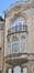 Antoine Bréartstraat 158, balkon en gebogen frontonbekroning in hoofdtravee, 2016