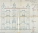 Rue Berkendael 15, 13 et 11, élévations © ACF/Urb. 2006 (1902).