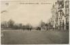 Entrée du parc de Forest vue du square de la Délivrance et de l'avenue du Mont Kemmel; au premier plan à droite, la maison sise au no80, vers 1915© (coll. Belfius Banque © ARB-SPRB)