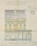Avenue Jupiter 188, 190, élévation de la façade arrière© ACF/Urb. 5578 (1911)