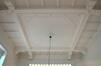 Avenue Besme 103, plafond à moulures au rez-de-chaussée, 2016