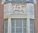 Chaussée de Bruxelles 221-223-225, stade Joseph Marien, détail, 2019