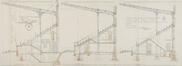 Chaussée de Bruxelles 221-223-225, stade Joseph Marien, coupes© ACF/Urb. 8954 (1926)