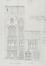 Rue du Charme 34 élévation, ACF/Urb. 6633 (1914)