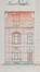 Rue de l'Escrime 23, élévation© ACF/Urb. 8786 (1928)