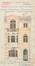 Rue de l'Escrime 30, élévation© ACF/Urb. 7939 (1923)