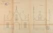 Avenue de la Jonction, pavillon d'entrée, élévation© ACF/Urb. 5416 (1911).