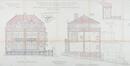 Avenue Kersbeek 61, 61A, élévations© ACF/Urb. 9374 (1927).