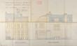 Square Larousse 20, élévations principale et latérale© ACF/Urb. 6555 (1914).