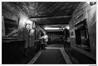 Rue des Moines19-21-23, hall d'entrée, vers le petit foyer© Archives privées, vers 1980
