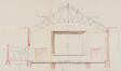 Rue des Moines19-21-23, plan de la «salle de spectacle»© ACF/Urb. 11713 (1932).
