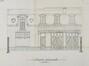 Avenue Molière 92, élévation des anciennes écuries et remises© ACF/Urb. 6010 (1912).