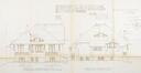 Zevenbunderslaan 165-167, achtergevel en noordoostelijke gevel, GAV/DS 5492 (1911)