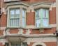 Rue Timmermans 57, détail de la porte ou de la logette à l'étage, 2016
