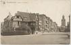 L'avenue Victor Rousseau en direction de la place Altitude Cent, avec la maison d'angle no61, sd (ca.1935), (coll. Belfius Banque © ARB-SPRB)