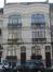 Avenue Wielemans Ceuppens79, 81, détail d'une fenêtre et majoliques au premier niveau, 2019