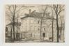 Avenue Zaman, ancien hôpital de Forest, Collection Belfius Banque - Académie royale de Belgique ©ARB-urban.brussels