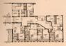 Boulevard Brand Whitlock 76, plan du premier étage © (La Maison, 4, 1960, p. 116)