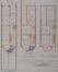 Boulevard Brand Whitlock 130, plan des rez-de-chaussée et étages© ACWSL/Urb. 296 (1912)