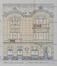 Avenue Georges Henri 477, élévation© ACWSL/Urb. 1401 (1920)