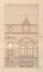 Rue Vergote 32, élévation prévue, ACS/Urb. 273-16 (1909)
