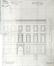 Avenue des Arts 16, Hôtel Charlier, transformations de 1892 (ACSJ/Urb./TP 4341).