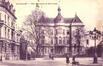La maison communale, cachet de la poste de 1927 (Collection de Dexia Banque)
