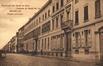 Façade extérieure de l'Institut des Dames de Marie, cachet de la poste de 1906 (Collection de Dexia Banque)