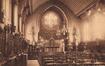 Institut des Dames de Marie, chapelle néo-gothique, s.d. (Collection de Dexia Banque)