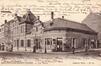 Station de la chaussée de Louvain, cachet de la poste de 1906 (Collection de Dexia Banque)
